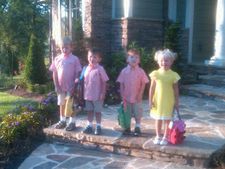 Four Kiddos in Preschool