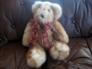 Mink Teddy Bear