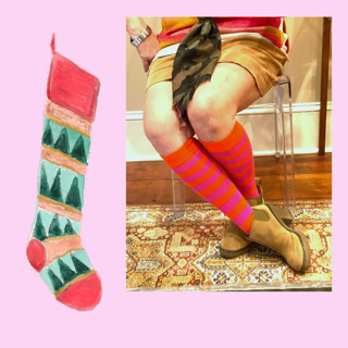 Style Your Legs with Chrissy's Socks
